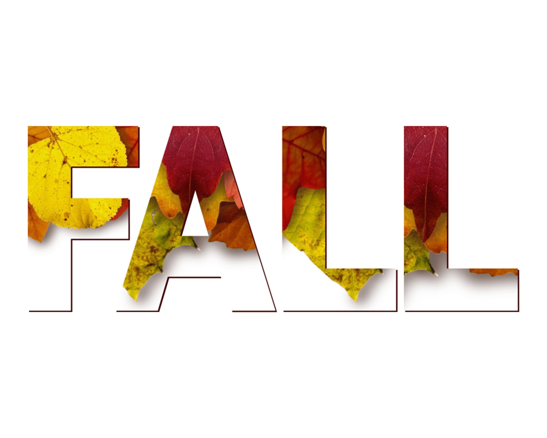 Fall in Leaves DIY Printable 10x8