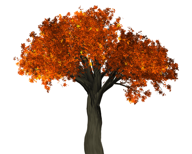 Free Fall Tree Decor Printable 10x8