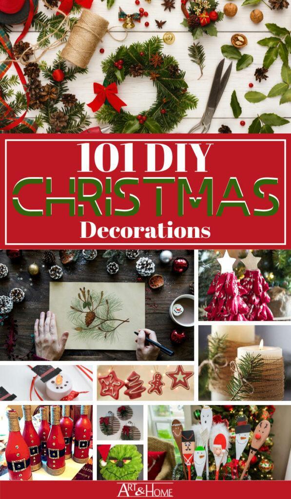 101 DIY Christmas Decorations & Decor Ideas
