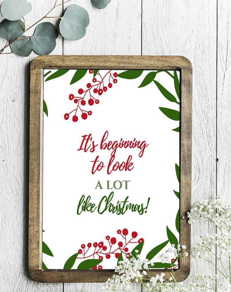 Printable DIY Christmas Gifts