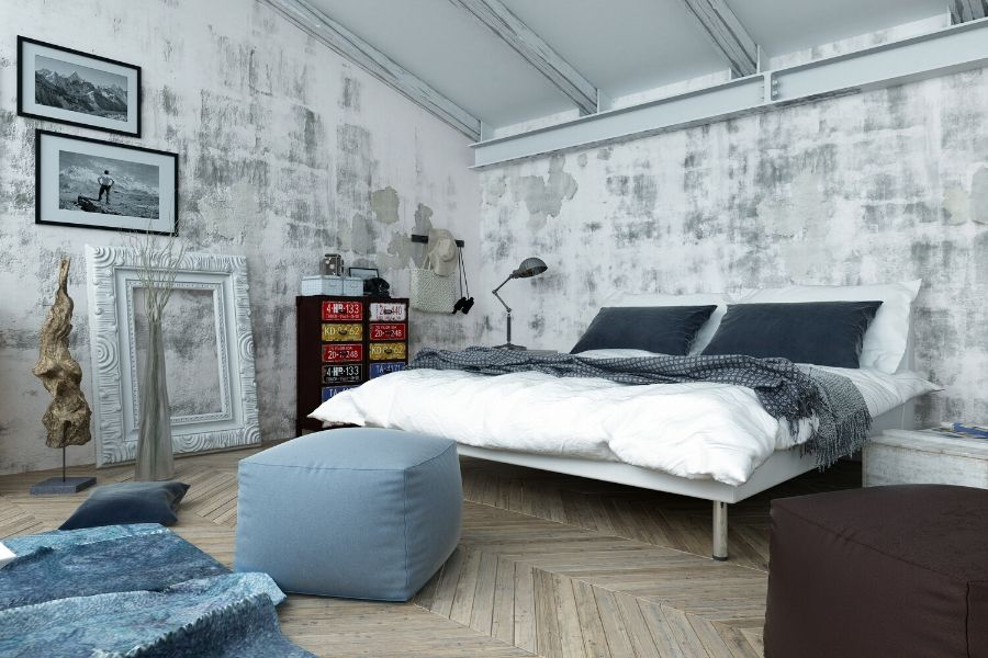 Setting the mood with bedroom wall art