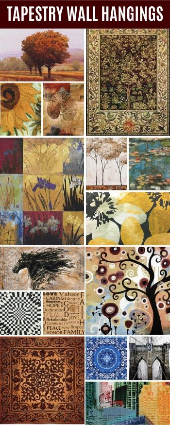 Featured Home Decor Products - Tapestry Wall Hangings