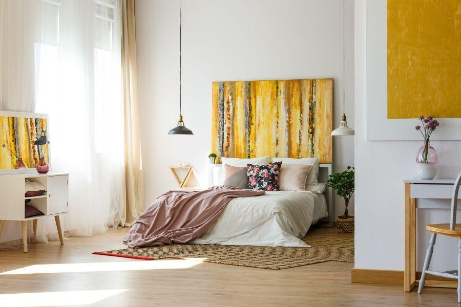 Picking Bedroom Wall Art Colors