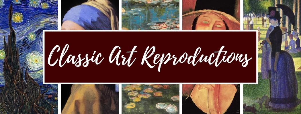 Shop Classic Art Reproductions