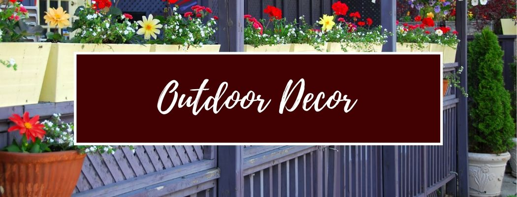 Shop Outdoor Decor Accents