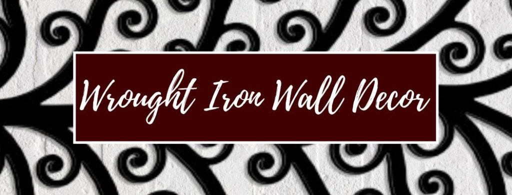 Shop Wrought Iron Wall Decor