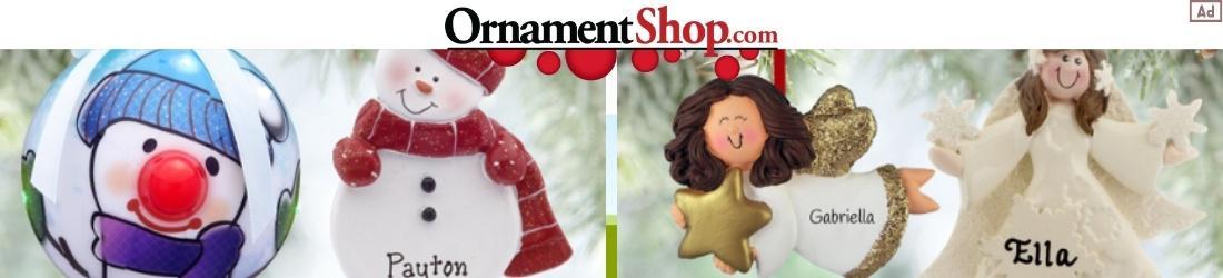 Ornament Shop Christmas Ornaments Ad