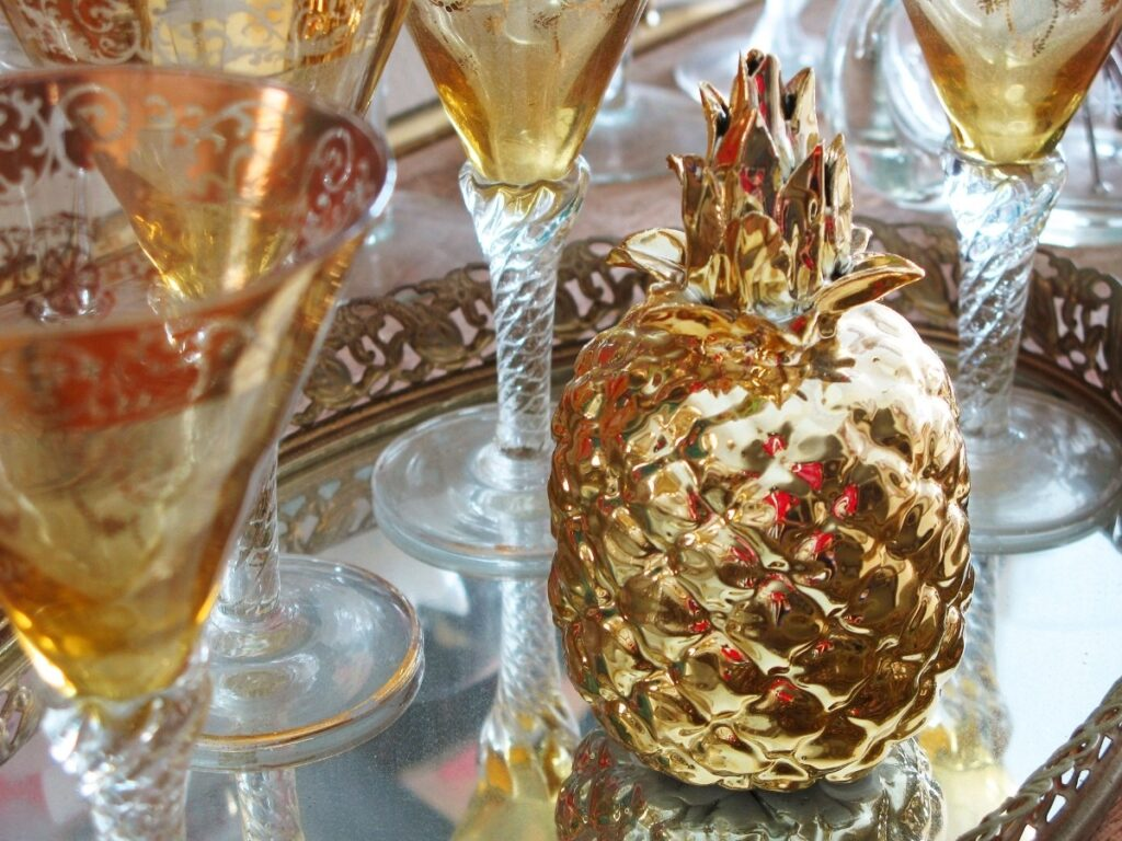 Pineapple as a Symbol of Prosperity