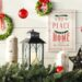 Christmas Hall Tables & Festive Foyer Decor